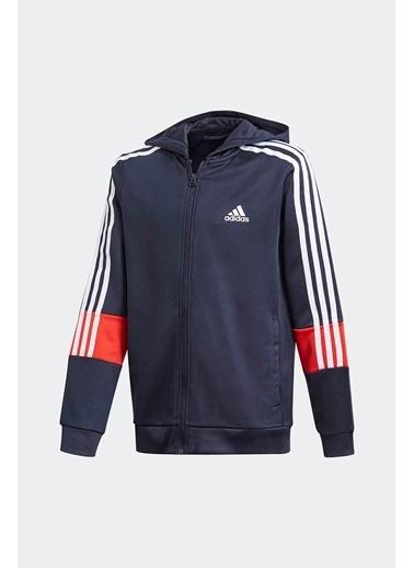 adidas Adidas Erkek Çocuk Koşu - Yürüyüş Kapşonlu Sweatshirt B A.R. 3S Hood Gm8456 Renkli